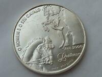 1000 escudos d Plata Portugal 1994, pesa 27 grs. El hombre y su Caballo Lusitano