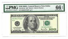 "2006 A $100  Fr 2183-K* PMG 66 EPQ Only 2 Graded Higher in PMG Registry"" !"