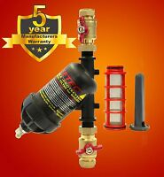 ZEETEC Double Protection Magnetic Filter, Boiler filter, Central Heating filter