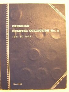 CANADIAN SILVER QUARTER COLLECTION NO. 2 1911 – 1952 28 COINS