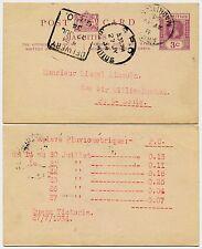 Maurice 1934 papeterie carte KG5 argy + coffret livraison gpo... victoria