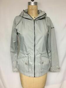 Columbia Regretless Waterproof Raincoat 1652931 Flint Grey XS NWT $100