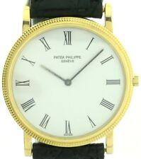 Patek Philippe Calatrava 750/18k Gold Vintage Herrenuhr Ref.3520 Box und Papiere