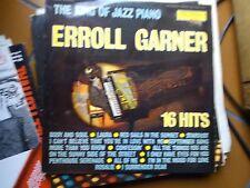 "LP 12"" ERROL GARNER THE KING OF JAZZ PIANO 16 HITS FRANCE"