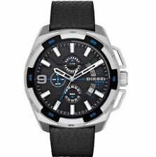Diesel Watch, DZ4392, Black Leather Band, 50mm Case, 5 ATM WR RRP$379