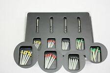 1 Box Dental Screw Thread Fiber Set 20 pcs Fiber Post & 4 Drills Free Shipping