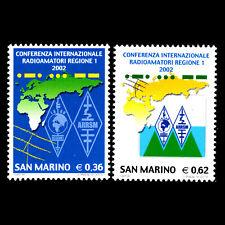 San Marino 2002 - Internazionale Amateur Radio Union Conferenza - Sc 1540/1 MNH