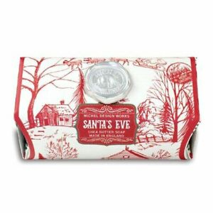 Michel Design Works Christmas Santa's Eve 8.7oz Artisanal Bar Shea Butter Soap