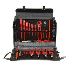 Elektriker Echt Leder Werkzeug Tasche Koffer Leather Tool bag 70105 - AKTION!!!
