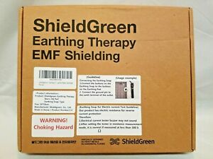 Shieldgreen Staric Earthing Square Therapy Kit Grounding Foot Desk Mat 50x50cm