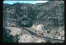 Original Slide Mexico: Bosque de Chihuahua Fairbanks Morse H16-44 1000 Action