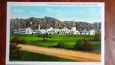 Federal Prison Located at La Luna (1), Near El Paso, TX - Linen