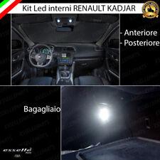 LED INTERNI ABITACOLO RENAULT KADJAR ANTERIORE + POSTERIORI + BAGAGLIO CANBUS
