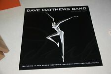 DAVE MATTHEWS BAND 2 SIDED 3 X 3 FEET PROMOTIONAL POSTER FOR STAND UP ALBUM