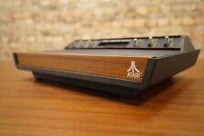 ATARI 2800 - TOP Zustand / Vintage Retro Konsole - 6 Schalter - Holz Optik