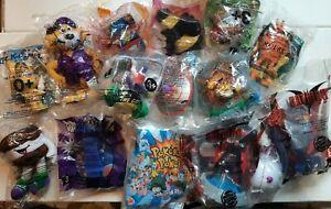 Happy Meal Toys KFC BK Kids Lot Pokemon Beanie Babies Batman 1998 - 2000 New NBO