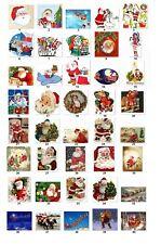 Personalized Return Address Christmas Santa Labels Buy 3 get 1 free (cs2)