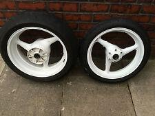 HONDA CBR 929 Fireblade Front and Rear Wheel & Part Worn Tyres 2000 - 2001 (#2)