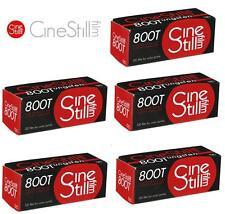 5 Rolls x Cinestill 800 ISO 800T Tungsten C-41 Medium Format 120 Color Film