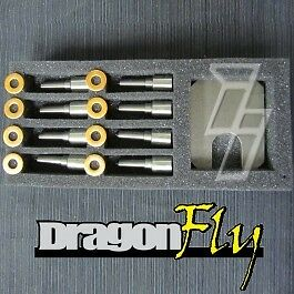 Industrial Injection DFLY 50Hp Nozzle Set for 6.6L Duramax LB7 2001-2004