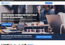 Agency Business Website - Wordpress Platform - Free Installation To Your Hosting