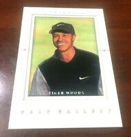 "TIGER WOODS Golf Gallery 2001 Insert RC Upper Deck ROOKIE Card 'WOW""  90 Wins??"
