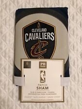 Pottery Barn PB Teen NBA Patch Standard Sham Gray Cleveland Cavaliers