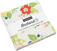"Orchard Moda Charm Pack 42 100% Cotton 5"" Precut Fabric Quilt Squares"