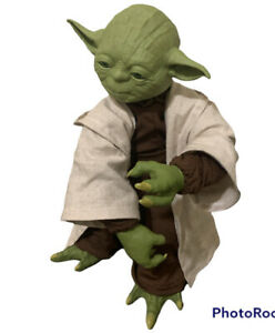 Star Wars Legendary Jedi Master Yoda Figure Discontinued 2015 Tested And Workinf