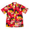 NEW Red Sunset Hawaiian Aloha Shirt Pacific Legend Made in Hawaii 410-3104 NWT