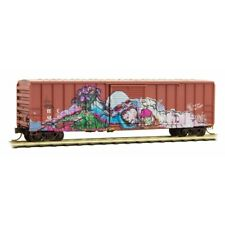 East Erie 50' Ribside Day of the Dead Weathered/Graffiti MTL 02552008 N Scale