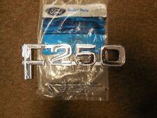 NOS 1982 - 1986 Ford F250 Front Fender Emblem E2TZ-16720-D