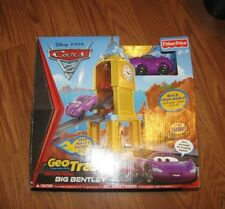 Disney Pixar Cars 2 GeoTrax Escape From Big Bentley Holley Shiftwell New in Box!