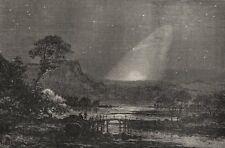ASTRONOMY. Zodiacal Light in Europe. September morning before sunrise 1877