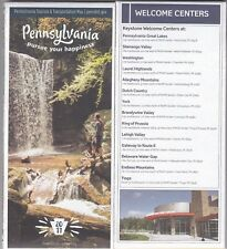 New! 2017 Official PENNSYLVANIA PA TOURISM & TRANSPORTATION MAP by Penndot