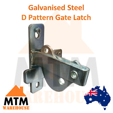 MTM Galvanised D Pattern Gate Latch