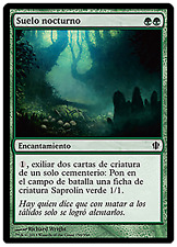 Night Soil - Suelo Nocturno Commander MTG Español