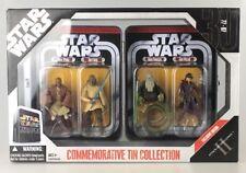 Star Wars IV Figure Set - Episode II  Commemorative Tin Oppo Rancisis Rare