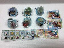 Thomas & Friends Bandai HIT Train Gashapon Figure keychain phone strap set of 6