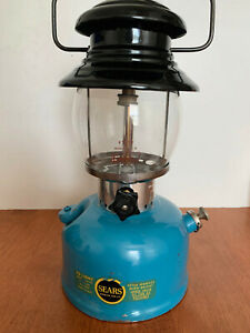 Blue Sears model 74550 lantern (4/67) - like Coleman