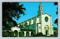 Winter Park FL, Rollins College Knowles Memorial Chapel, Chrome Florida Postcard