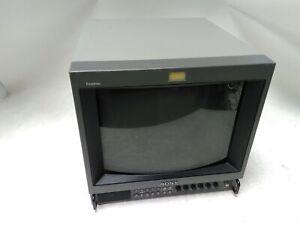"Sony Trinitron PVM-1351Q 13"" Retro Gaming Color CRT Monitor"