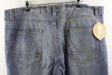 DESIGNER Mens WESTERN Trucker Jeans COMFORT STRAIGHT Fit Zip Fly W42 L30 P81