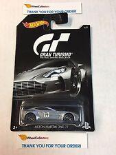 Gran Turismo Hot Wheels * Aston Martin One-77 * Silver