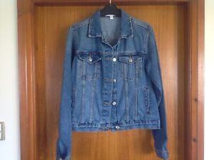 Dorothy Perkins Ladies Distressed Denim Jacket Excellent Condition Size 10