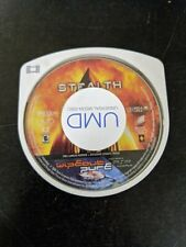 STEALTH / WIPEOUT PURE Sony Playstation Portable PSP UMD Movie/Video Game Combo