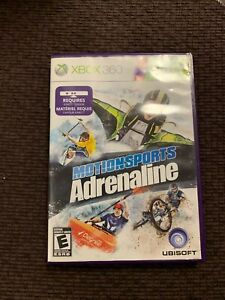 Motionsports: Adrenaline (Microsoft Xbox 360, 2011) Kinect Complete with Manual