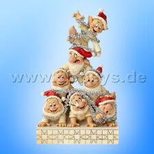 "Disney Traditions ""Precarious Pyramid"" (7 Zwerge) - Jim Shore 6000942"