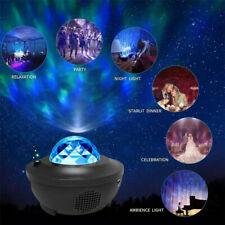 Nachtlicht Projektor Sternenhimmel Einschlafhilfe Lampe WasserwellenWelleneffekt