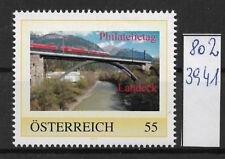 Österreich PM personalisierte Marke Philatelietag LANDECK 8023941 **